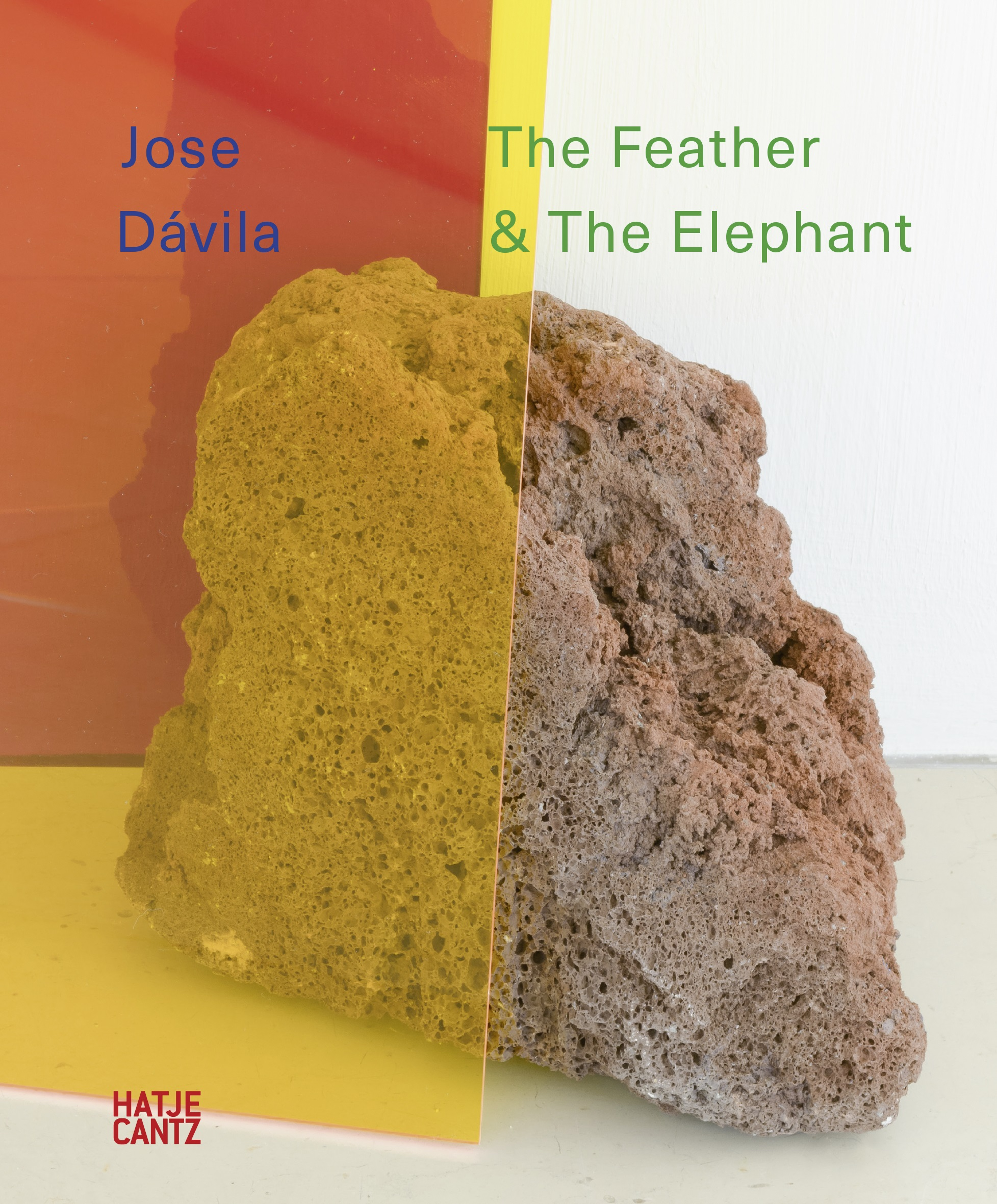 Jose Dávila The Feather & The Elephant © Hatje Cantz Verlag