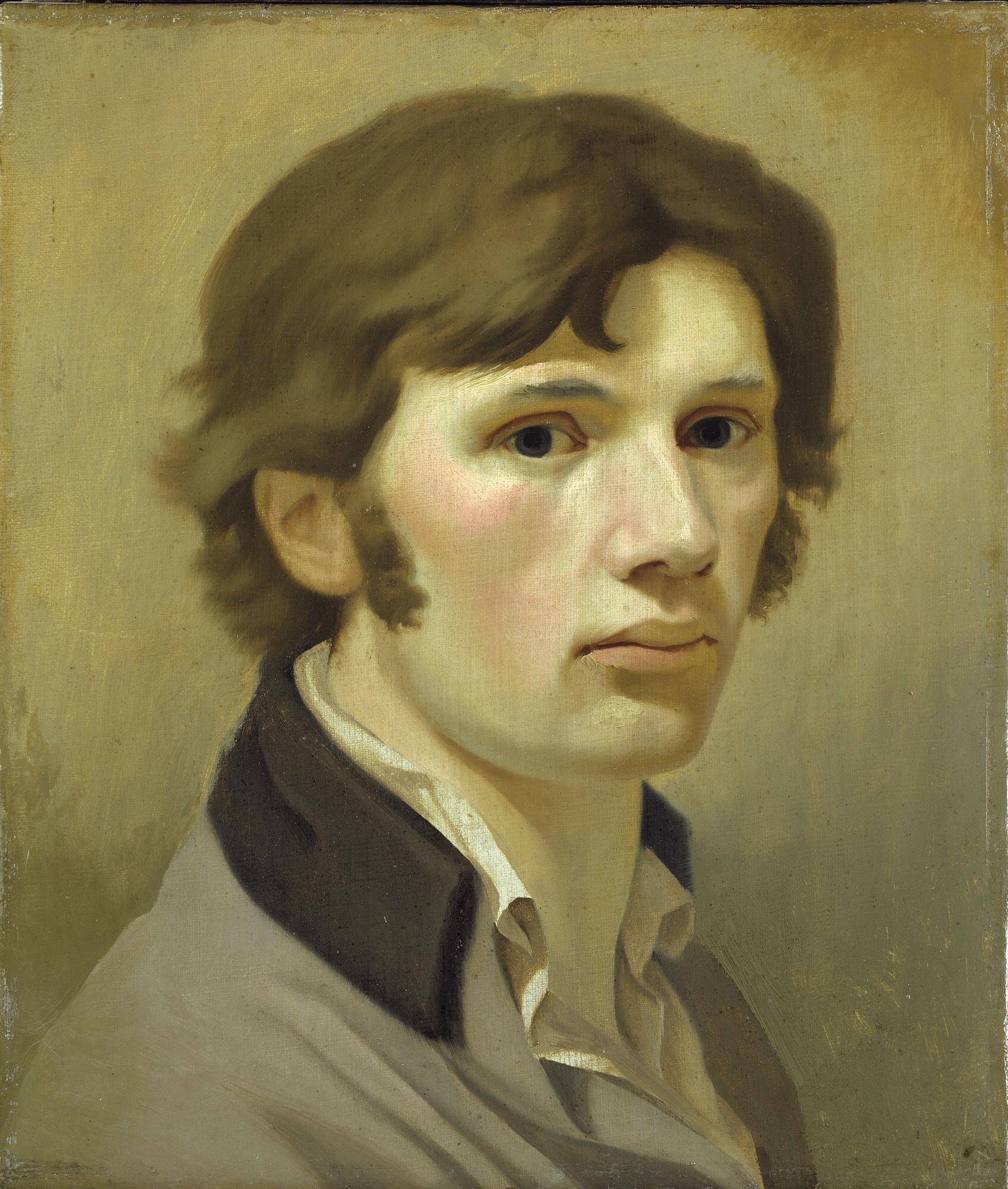 Philipp Otto Runge Selbstbildnis mit braunem Kragen, um 1802 © Hamburger Kunsthalle / bpk Foto: Elke Walford