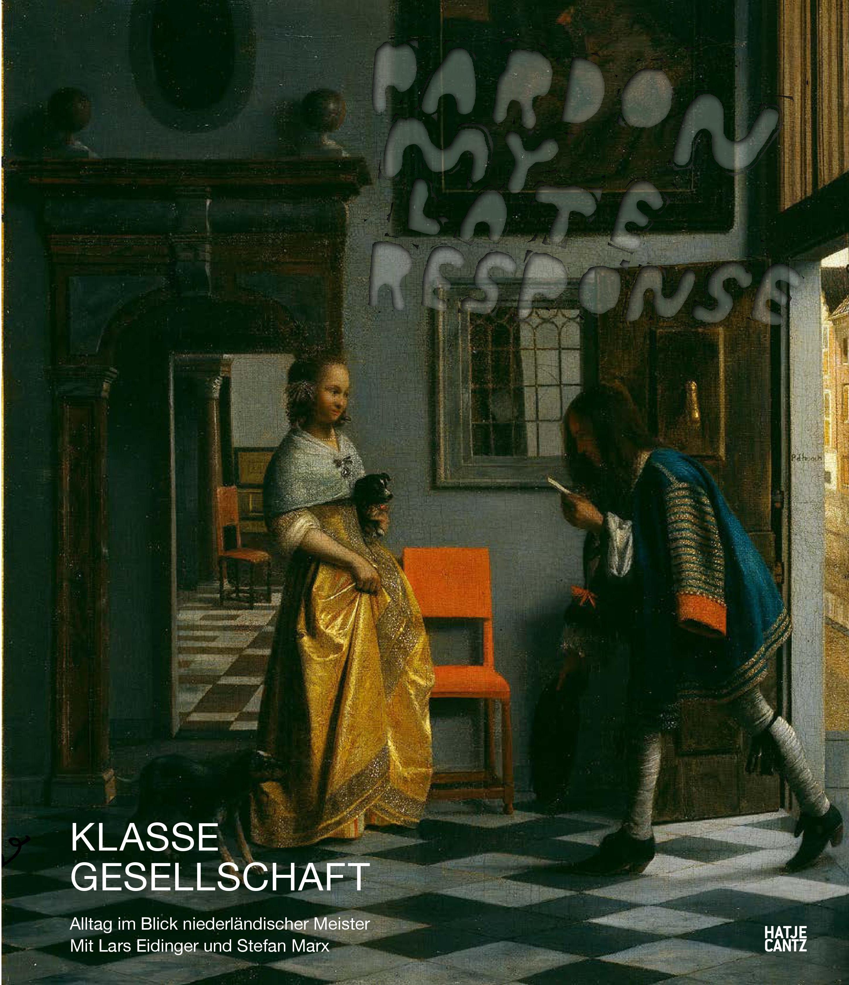 Katalogcover zur Ausstellung Klasse Gesellschaft Hamburger Kunsthalle, Hatje Cantz Verlag 2021