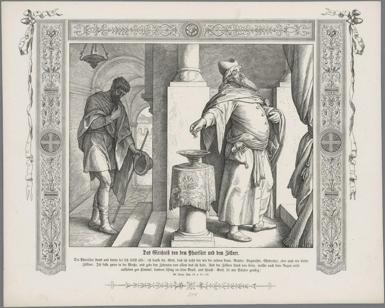pharisäer und zöllner