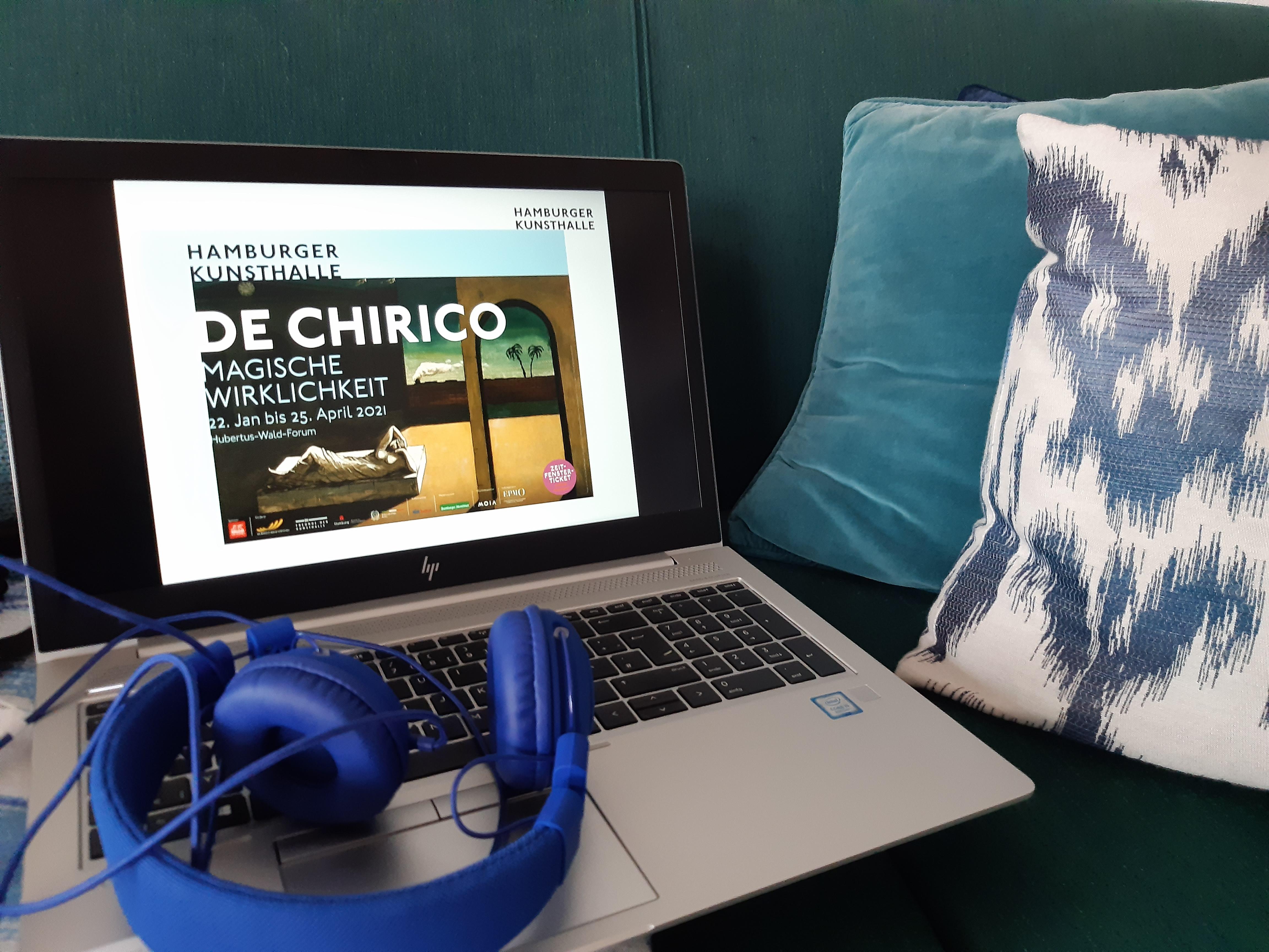 """Hamburger Kunsthalle, Digitale Einfuhrung in die Ausstellung """"De Chirico. Magische Wirklichkeit"""""""