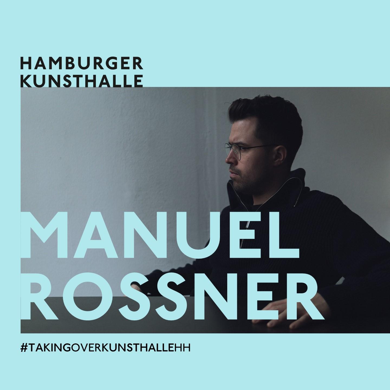 Instagram Takeover Hamburger Kunsthalle, Manuel Rossner, Foto: Johanna Ghebray