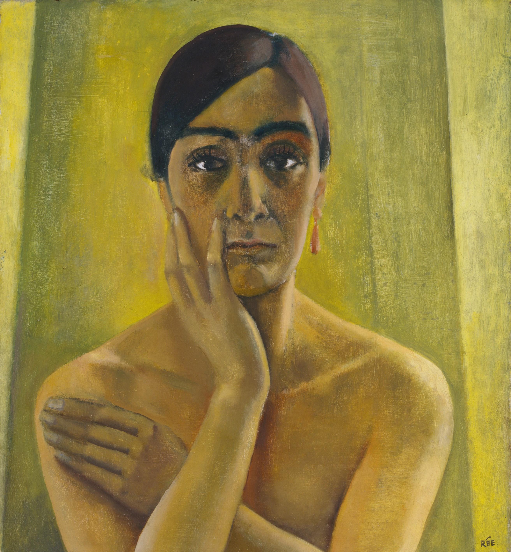 Anita Rée (1885–1933): Selbstbildnis, 1930, Öl auf Leinwand, 66 x 60,8 cm © Hamburger Kunsthalle / bpk  Foto: Elke Walford