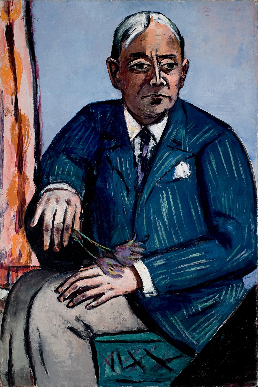 •Bildnis Ludwig Berger, 1945, Öl auf Leinwand, 135,6 x 90,9 cm, Saint Louis Art Museum, Bequest of Morton D. May 854:1983 Foto: Saint Louis Art Museum, Bequest of Morton D.