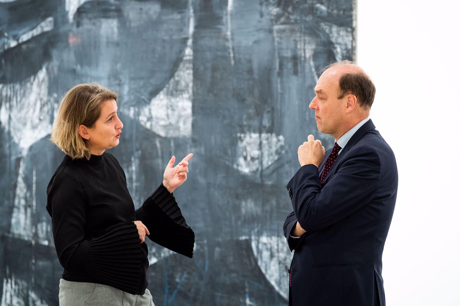 Belgischer Botschafter Willem van de Voorde, Brigitte Kölle, Foto: Romanus Fuhrmann