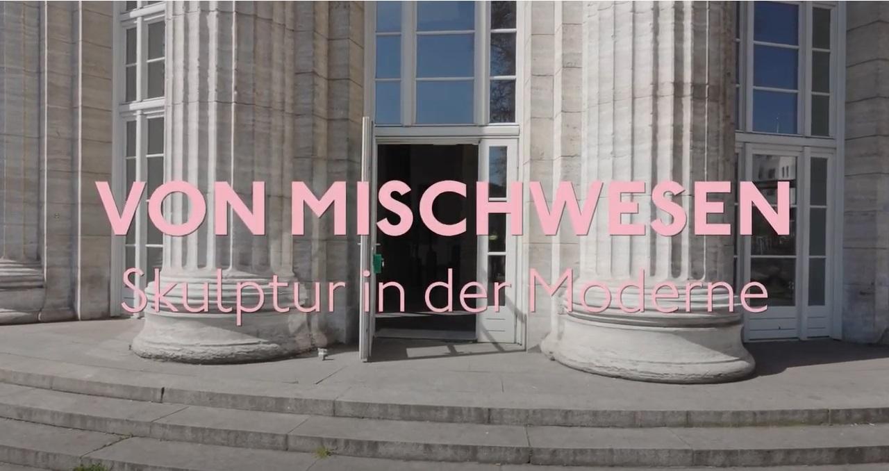 Filmstill zur Sammlungspräsentation Von Mischwesen. Skuptur in der Moderne