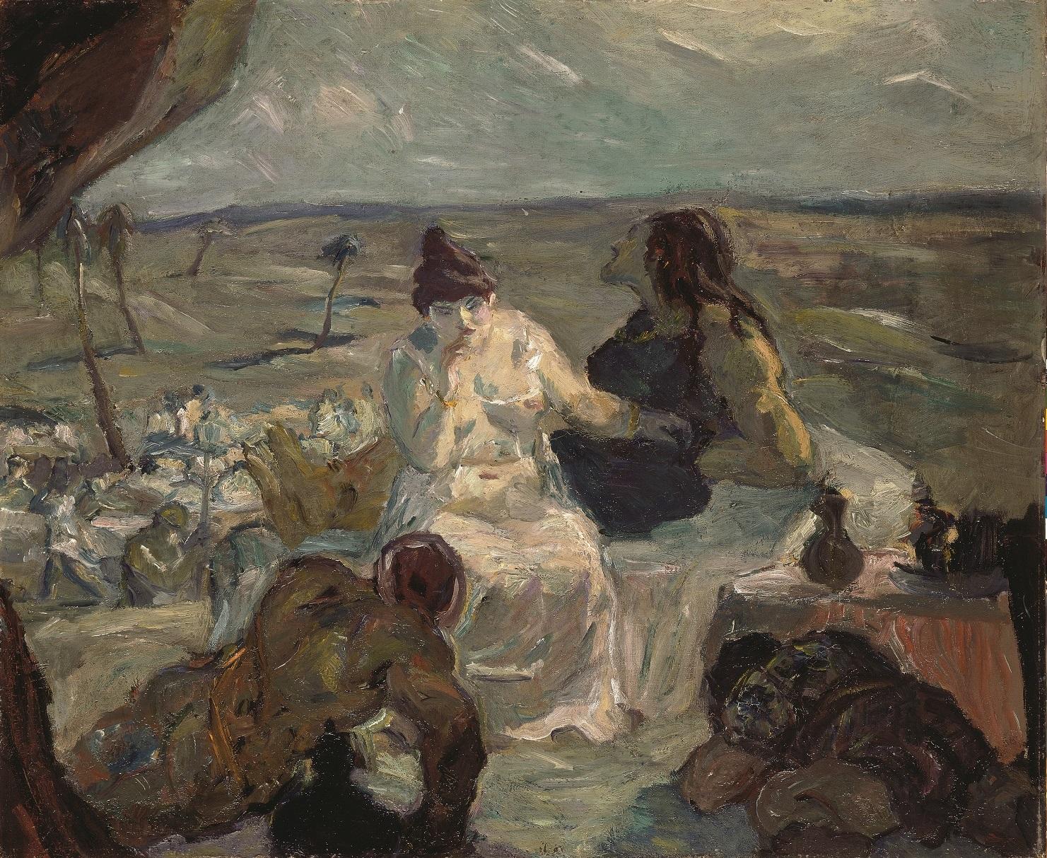 Max Beckmann, Simson und Delilah, 1912, 70,5 x 85,5 cm, © Privatbesitz,  © VG Bild-Kunst, Bonn 2020