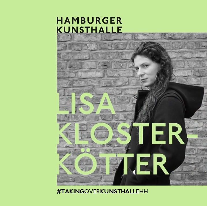 Instagram Takeover # 2 KunsthalleHH Lisa Klosterkötter, Mai 2020, Foto: Jakob Engel
