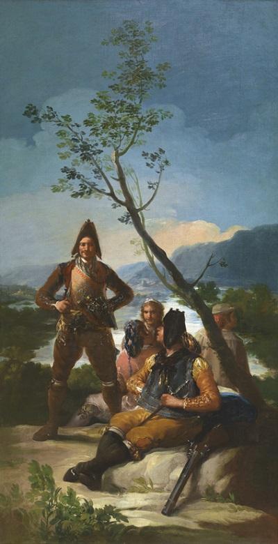 Francisco de Goya (1746–1828) Die Tabakzöllner, 1780 Öl auf Leinwand, 262 x 137 cm  © Museo Nacional del Prado,  Photographic Archive, Madrid