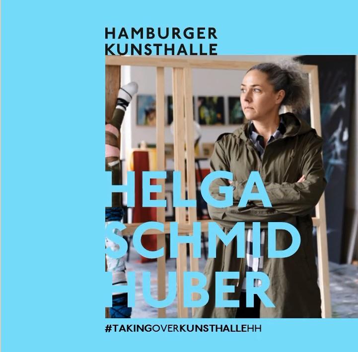 Instagram-Takeover, Hamburger Kunsthalle, Helga Schmidhuber, August 2020, Foto: Albrecht Fuchs