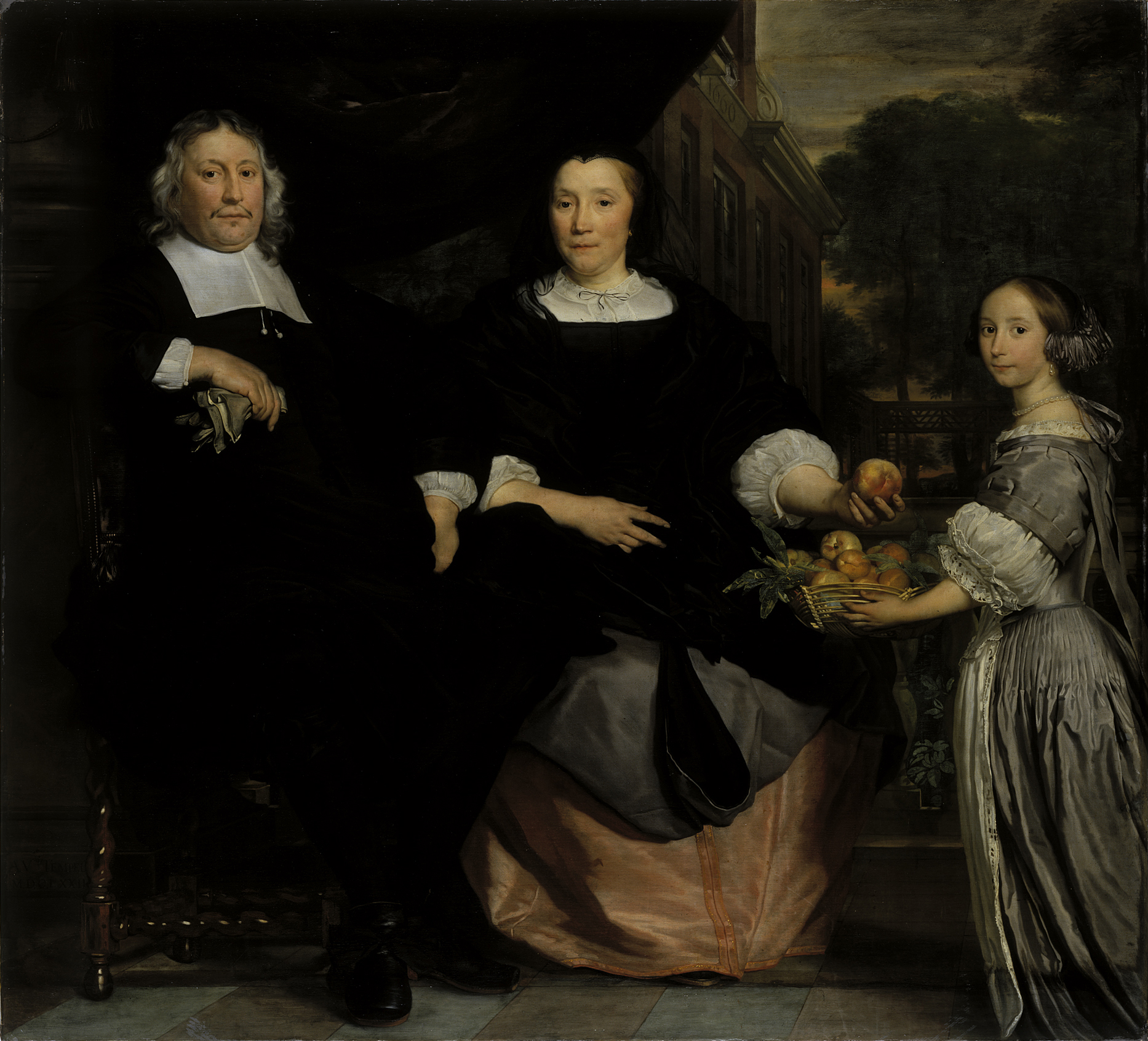 Abraham Lambertsz. van den Tempel (1622/23 - 1672): Bildnis einer Patrizierfamilie, 1672 © Hamburger Kunsthalle / bpk, Foto: Elke Walford / bpk, Foto: Elke Walford