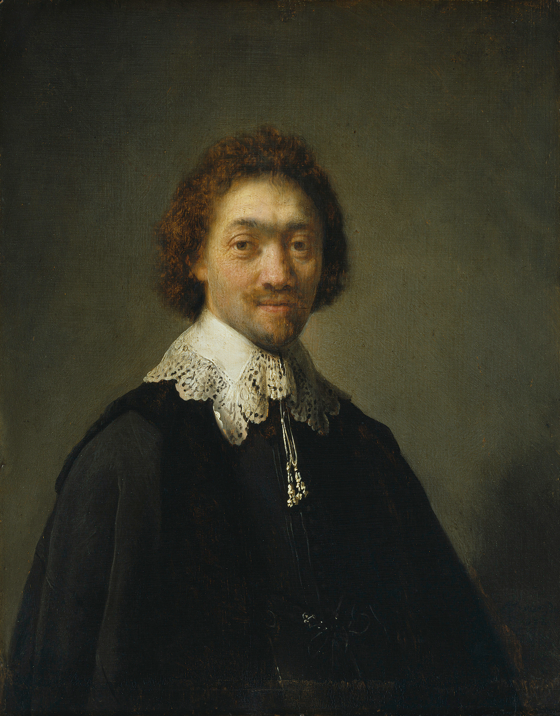 Rembrand Harmensz. van Rijn (1606-1669): Maurits Huygens, Sekretär des Staatsrats in Den Haag, 1632 © Hamburger Kunsthalle / bpk, Foto: Elke Walford