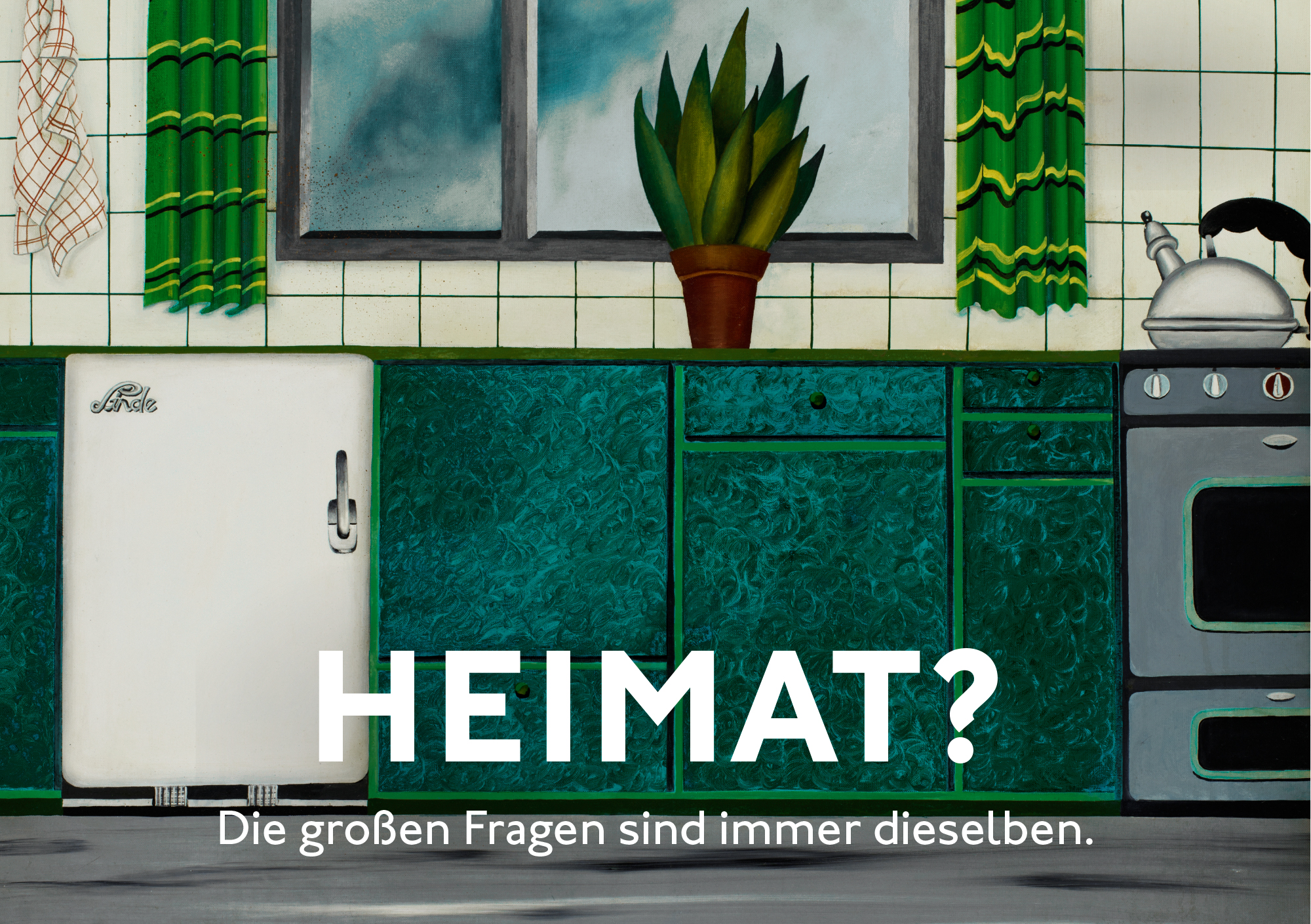 Almut Heise, Küche I, 1968, © Almut Heise, Foto: Elke Walford
