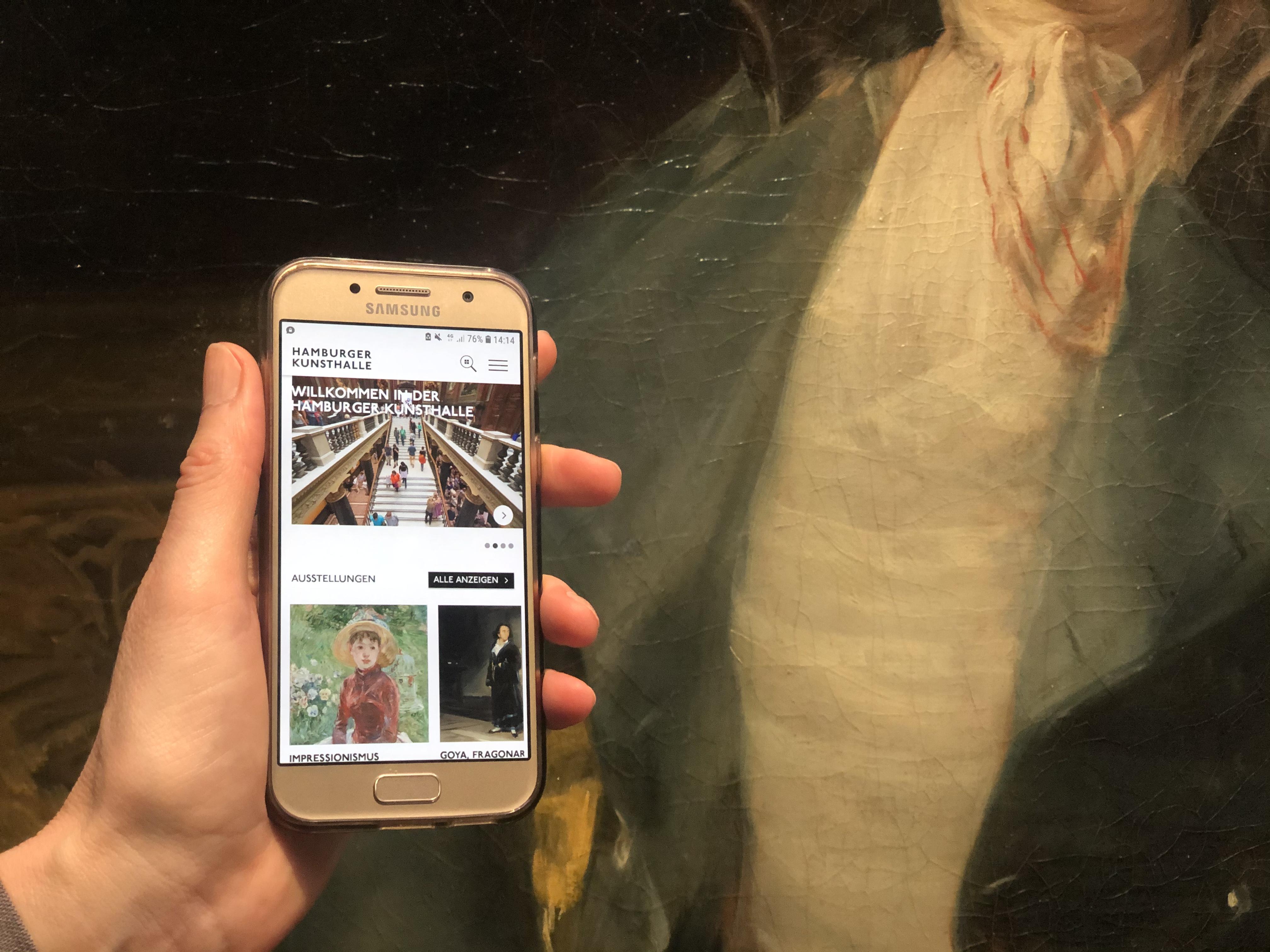 App Hamburger Kunsthalle