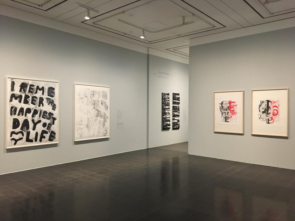 Installationsansicht, Serien. Durckgraphik von Warhol bis Wool, Hamburger Kunsthalle 2021