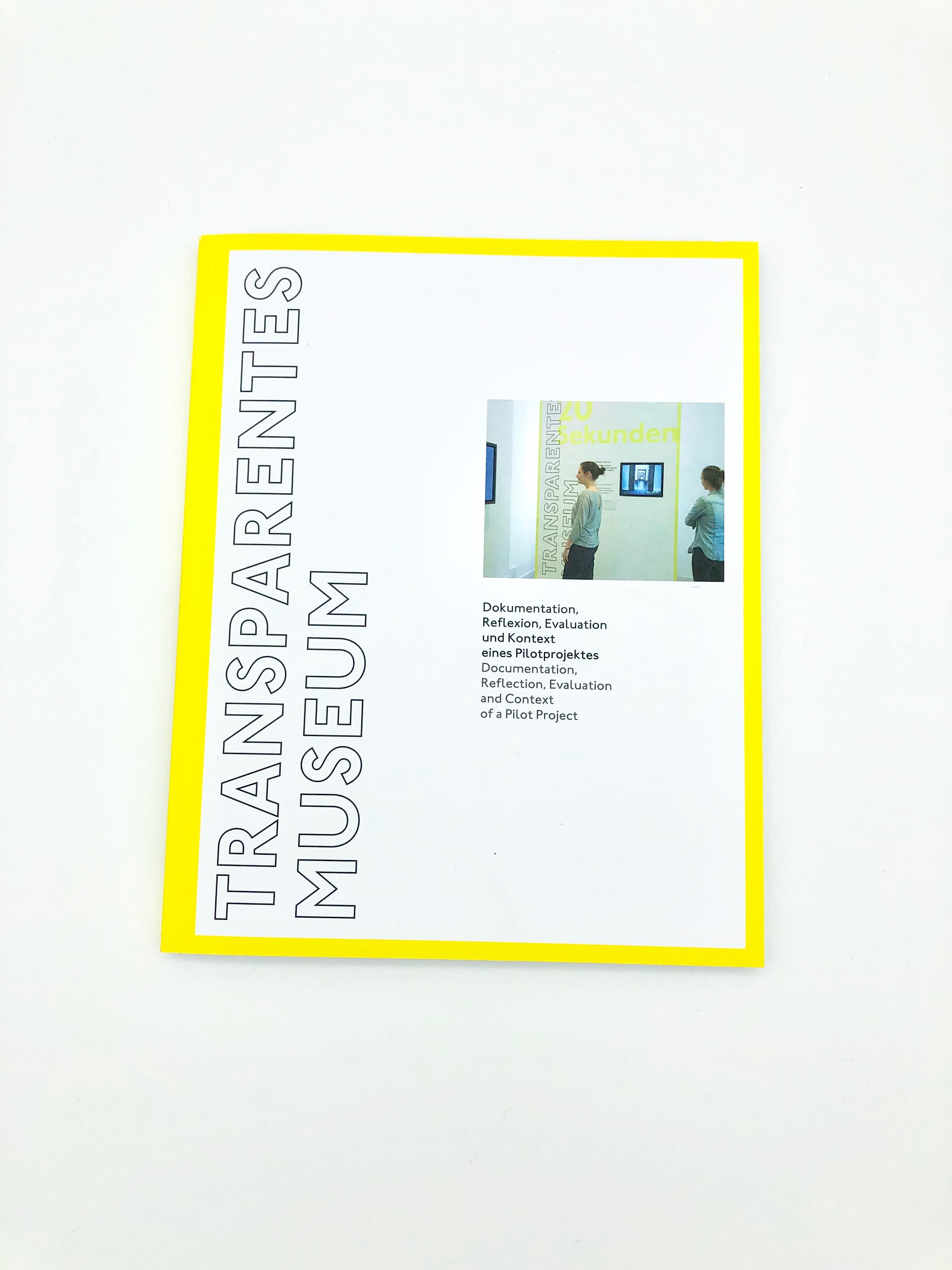 Begleitpublikation Transparentes Museum