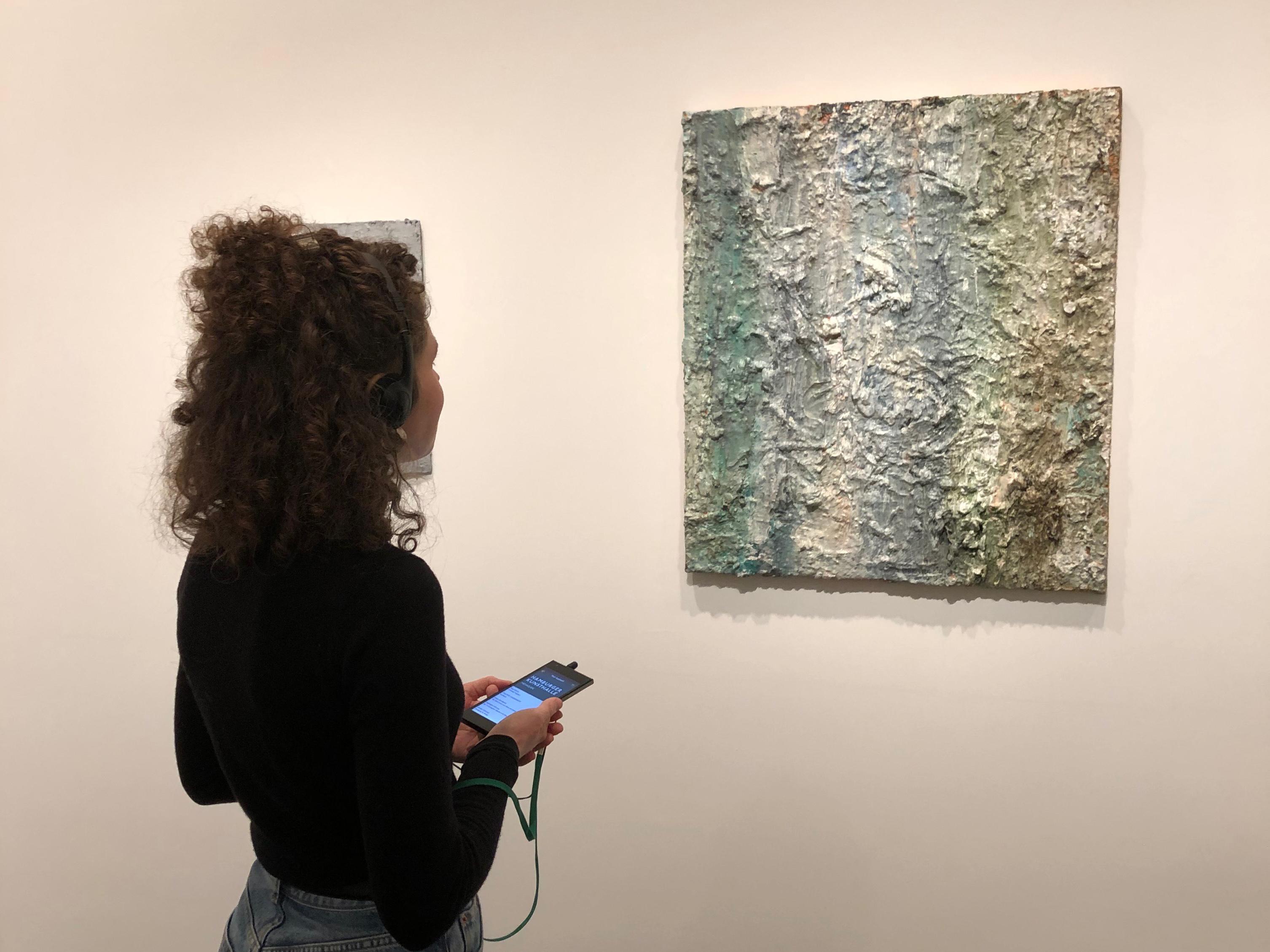 Philippe Vandenberg (1952–2009): Kein Titel / No title 1991–2002 Öl und Paste auf Leinwand / Oil and paste on canvas 80 × 70 cm