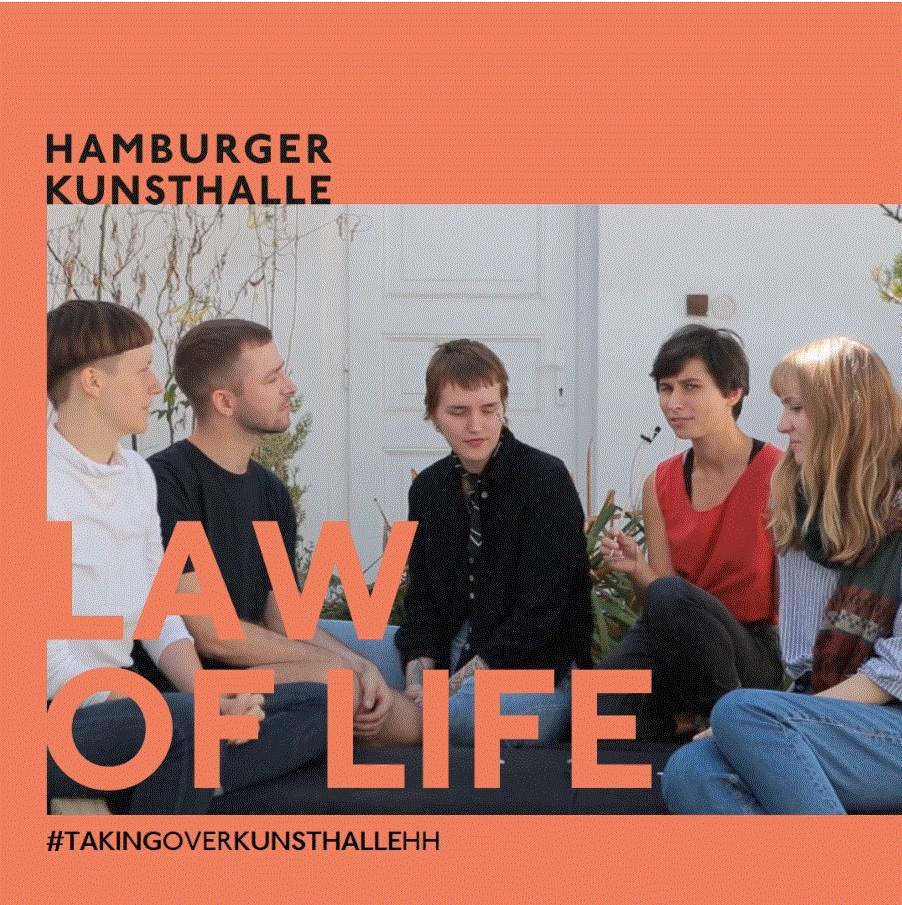 Instagram Takeover Hamburger Kunsthalle Law of Lilfe, Dezember 2020