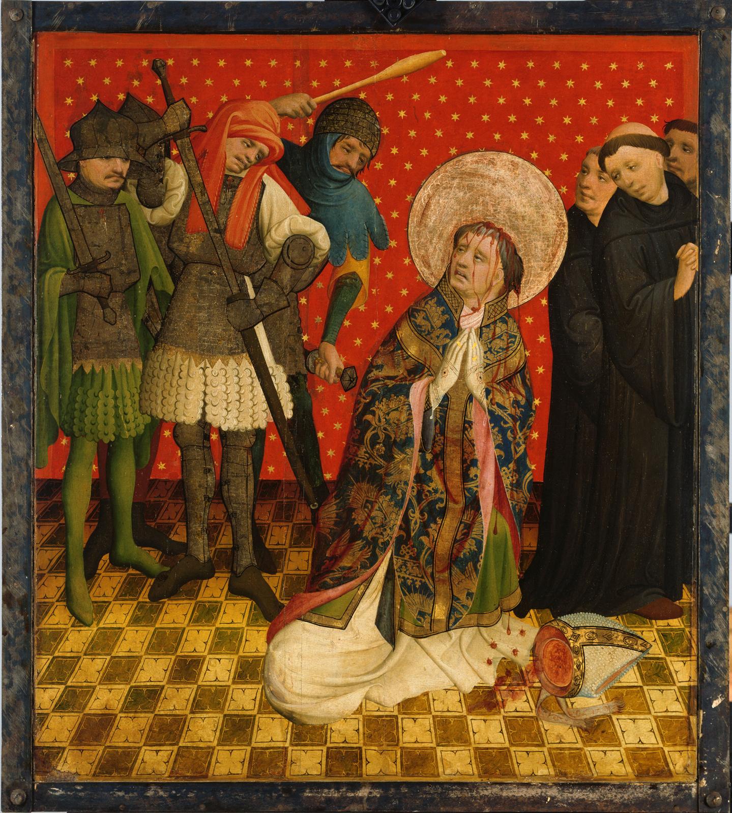 Hamburger Meister, gen. Meister Francke, Thomas Altar, 1424 (?),