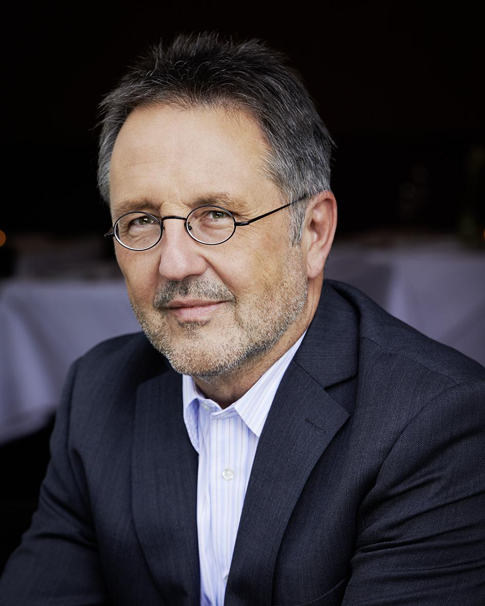 Rainer Moritz, Leiter Literaturhaus Hamburg, Fotograf:  Gunter Glücklich