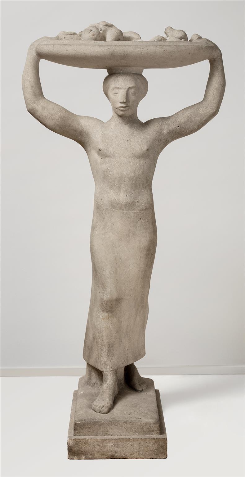 Ernst Martin Friedrich Wield (1880 – 1940) Schalenträger II © Hamburger Kunsthalle / bpk Foto: Christoph Irrgang