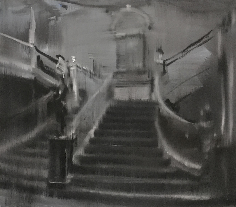 Uta Schotten (*1972) Titanic, 2017 Öl auf Leinwand, 60 x 80 cm Privatbesitz