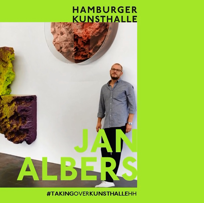 Instagram-Takeover Hamburger Kunsthalle mit Jan Albers, September 2020