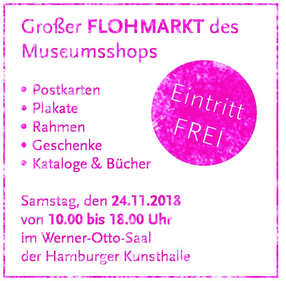 Großer Flohmarkt des Museumsshops | Hamburger Kunsthalle