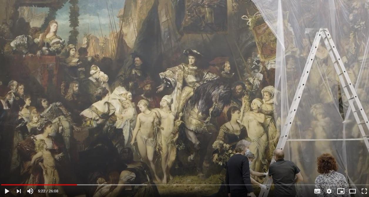 Film: 50 Quadratmeter Zumutung. Hamburger Kunsthalle