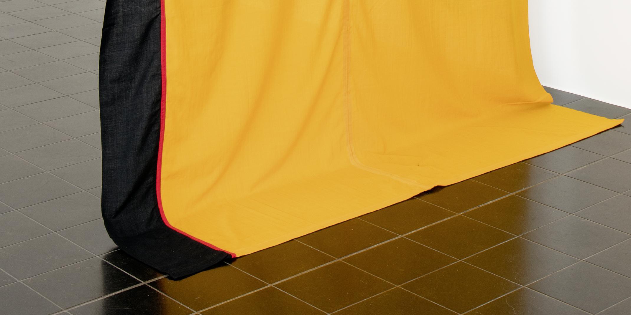 KP Brehmer; Korrektur der Nationalfarben, gemessen an der Vermögensverteilung (Version I), 1970,© Privatsammlung in der Hamburger Kunsthalle, Foto: Christoph Irrgang