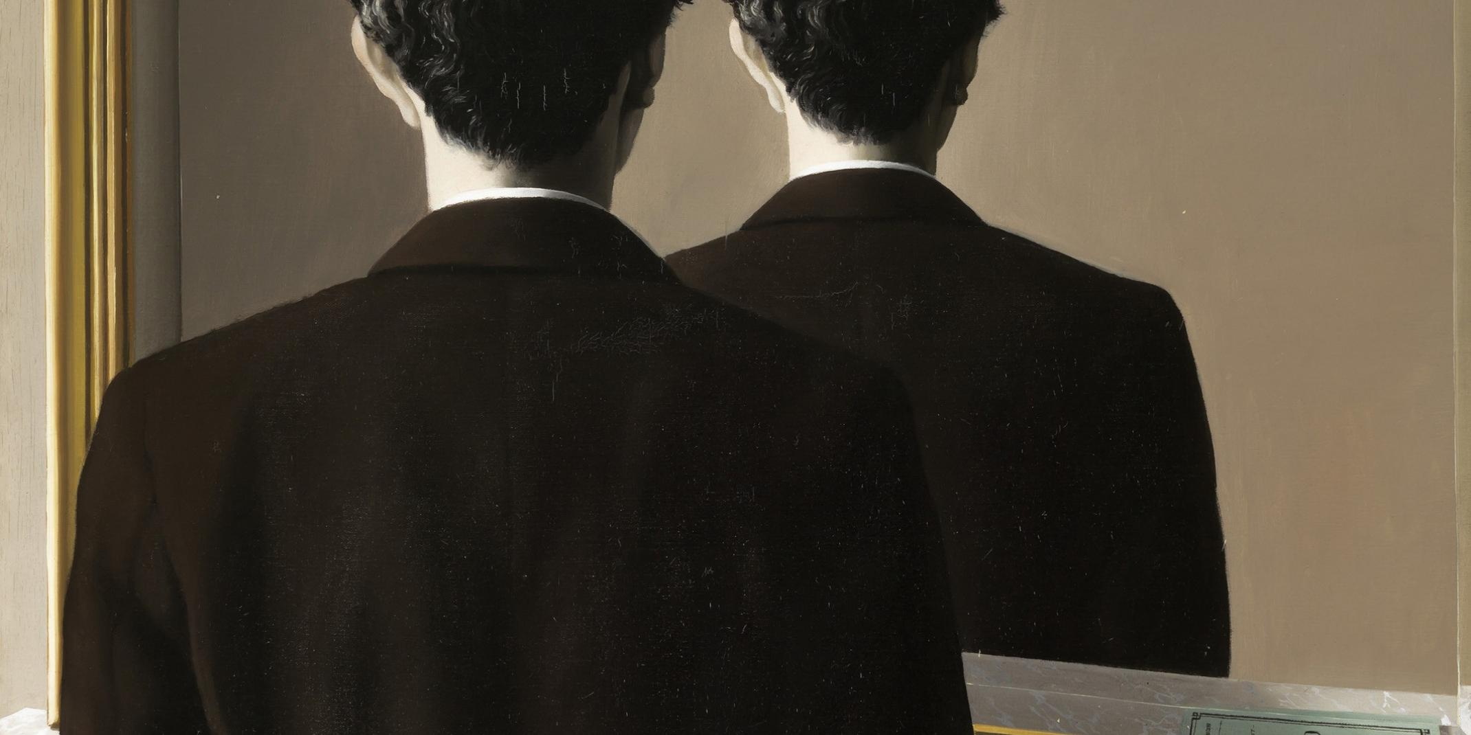 René Magritte (1898–1967), La reproduction interdite (Reproduktion verboten), 1937, Ehemals Sammlung Edward James, Museum Boijmans Van Beuningen, Rotterdam, © VG Bild-Kunst, Bonn 2016