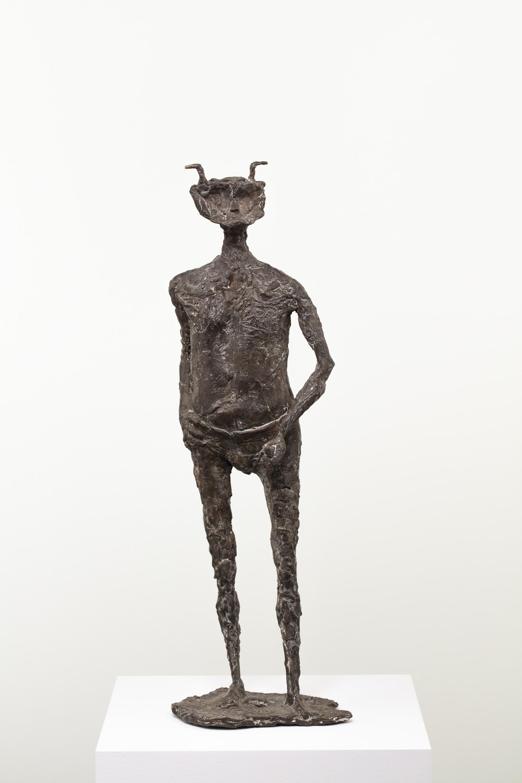 Ursula Querner (1921–1969) Homo Aquaticus, 1962 Bronze, 43,5 x 15 x 12 cm Hamburger Kunsthalle © Nachlaß Ursula Querner, Hamburg Foto: Christoph Irrgang