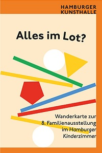 Wanderkarte zum Hamburger Kinderzimmer in der Hamburger Kunsthalle