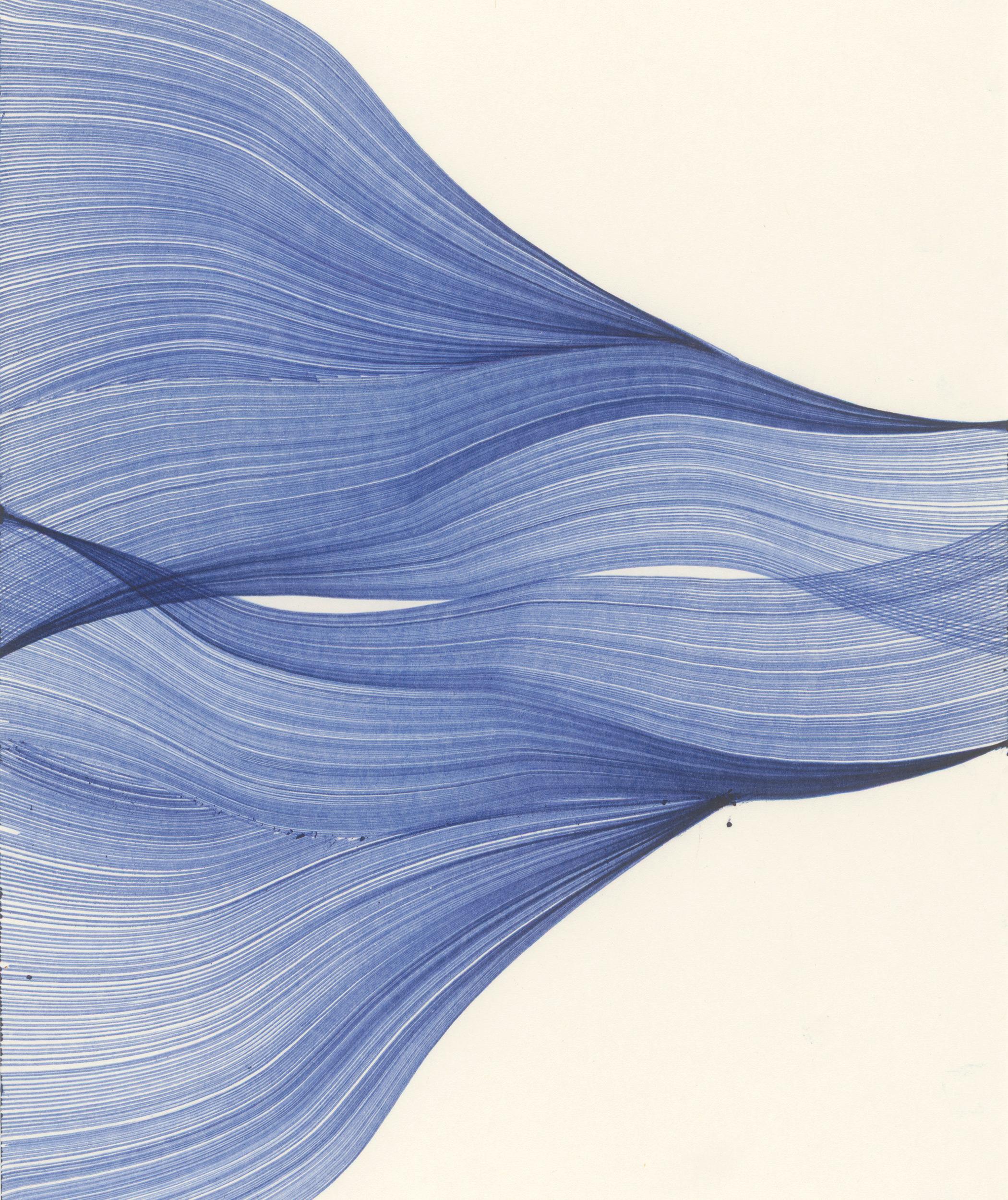 Thomas Müller (*1959) Ohne Titel, 2007 Kugelschreiber, 29,7 x 21 cm